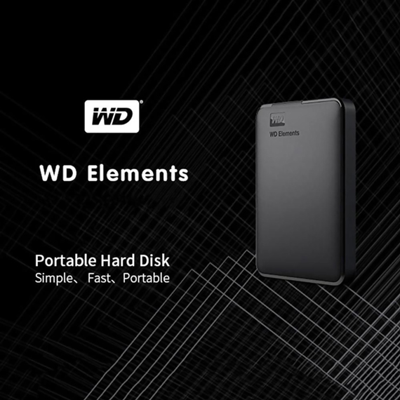 باکس هارد  WD ELEMENTS USB 3.0